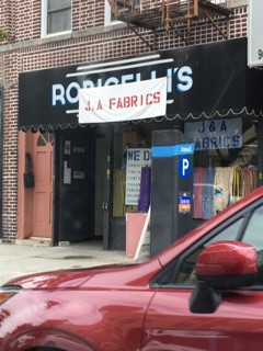 best fabric store in bay ridge j and a