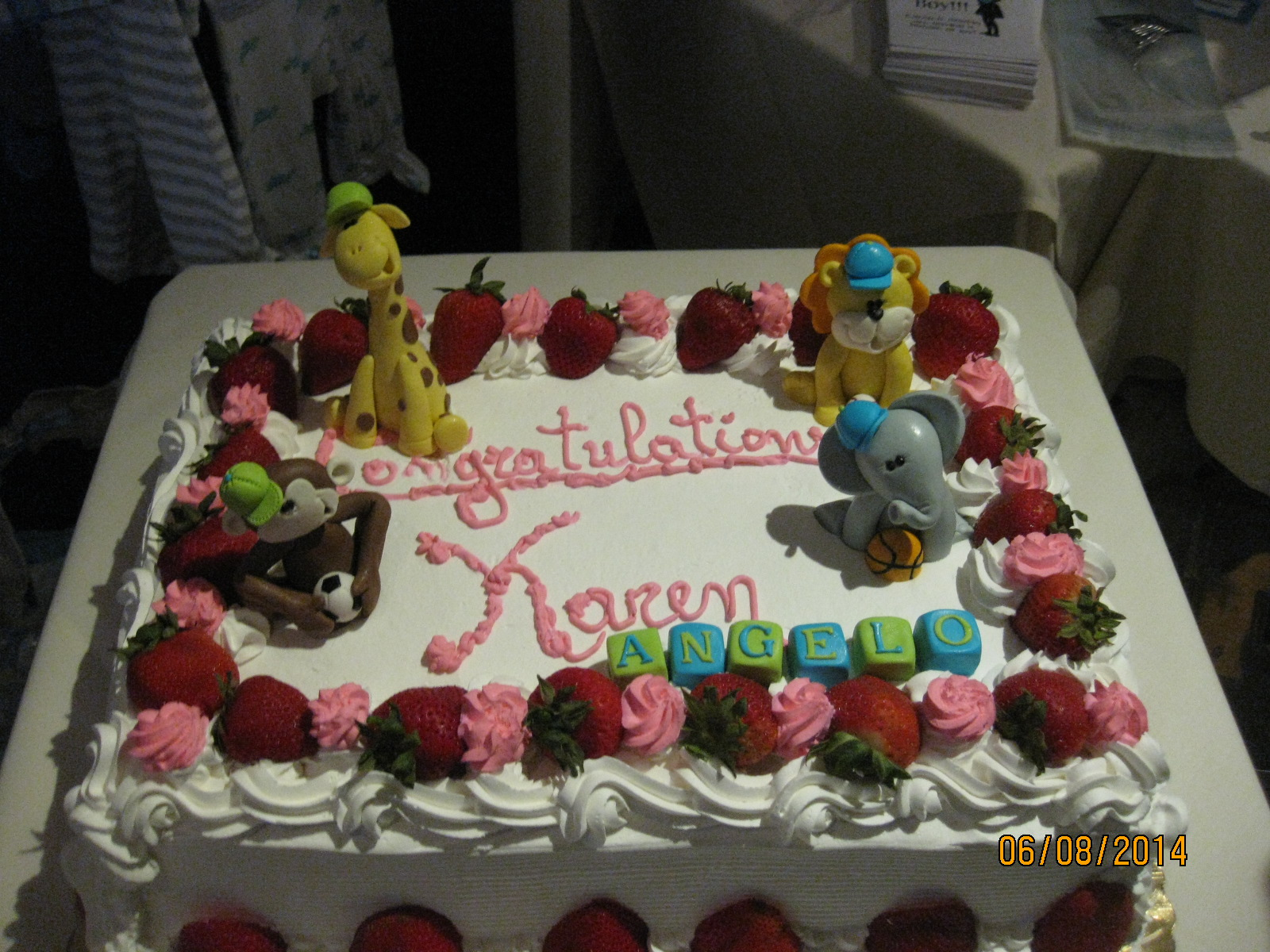 Cake Decor Colwyn Bay : Baby Shower in Bay Ridge 2014