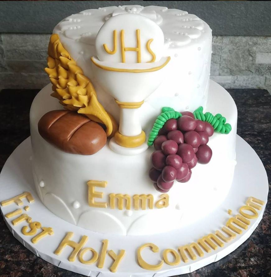 Communion Cakes From Bakeries Bay Ridge And Dyker Heights Brooklyn 11209