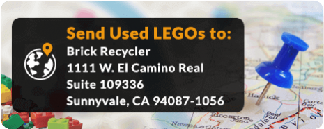 recycle legos