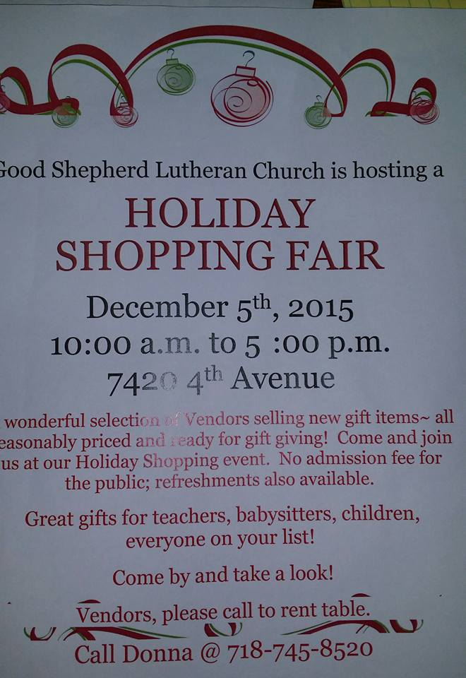 good shepard holiday sale