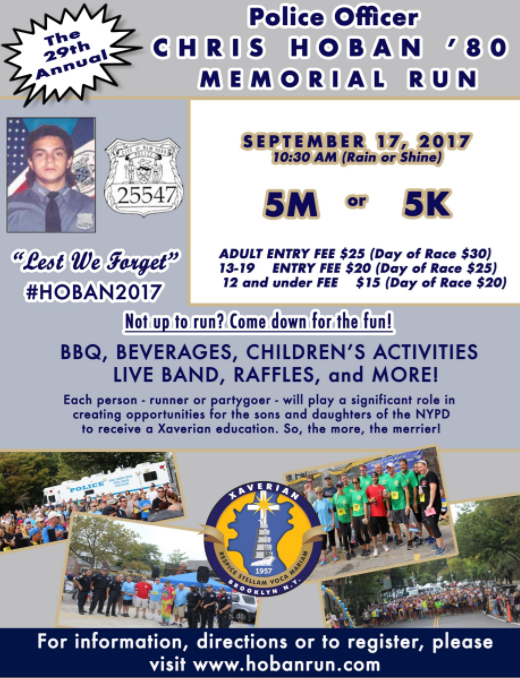 Chris Hoban Run September 2017 Bay Ridge Brooklyn