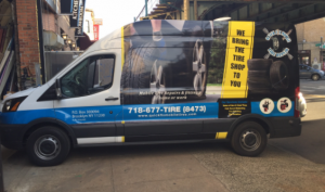 flat tire repaired outside your home bay ridge