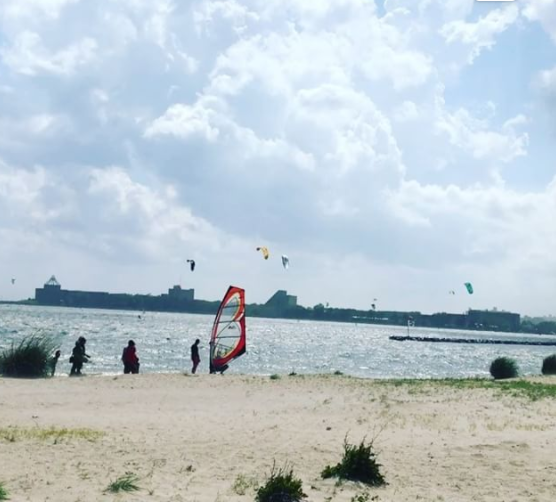 kitesurfing kiteboarding kite boarding surfing brooklyn