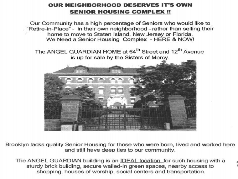 Affordable Housing for Senior Citizens Borough Park Bay Ridge Dyker Heights Bensonhurst