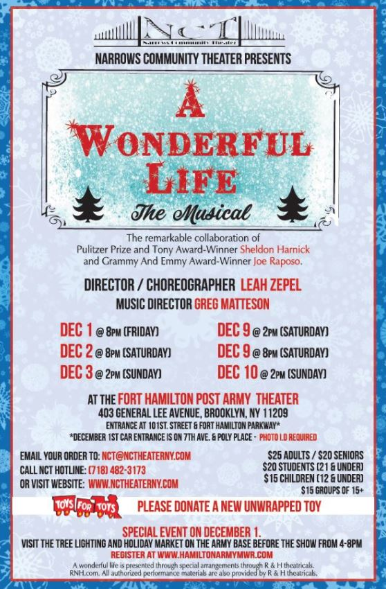 Narrows Community Theater It's a Wonderful Life