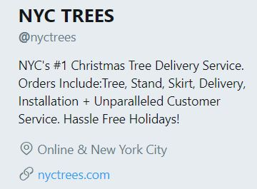 nyctrees nyc tree delivery service Brooklyn Christmas tree service fail