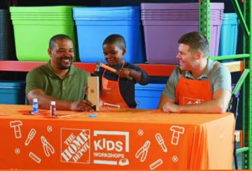 free home depot workshop for kids on march 3rd