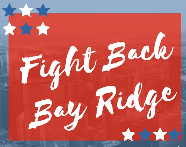 FBBB Fight Back Bay Ridge Marty Golden Constitutional Rights Summer Stroll 2018