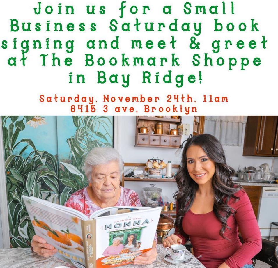 cooking with nonna bookmark shoppe