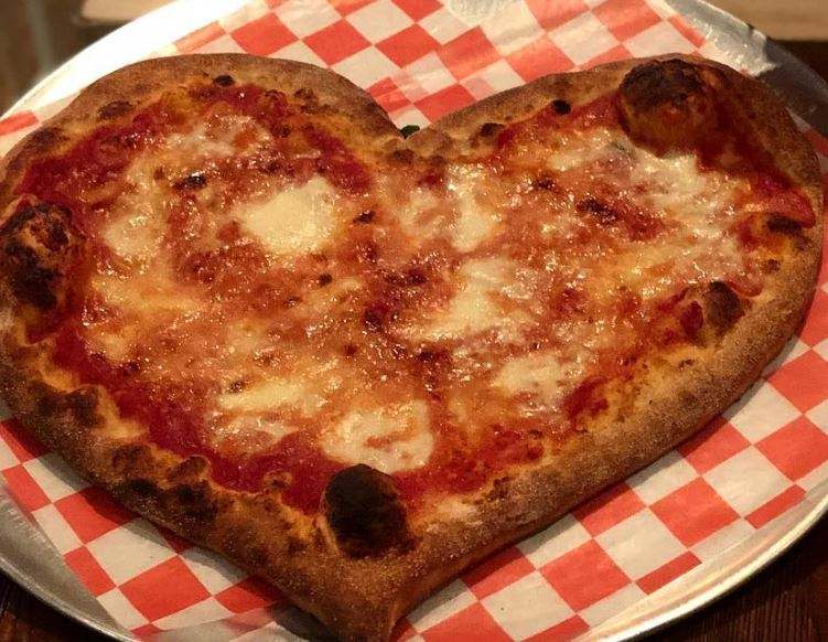 Peppino S Pizza: Heart Shaped Pizza For Valentine's Day In Bay Ridge Or