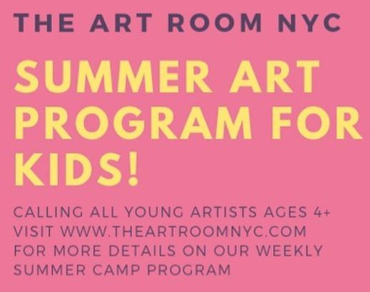 the art room summer program for children kids in bay ridge