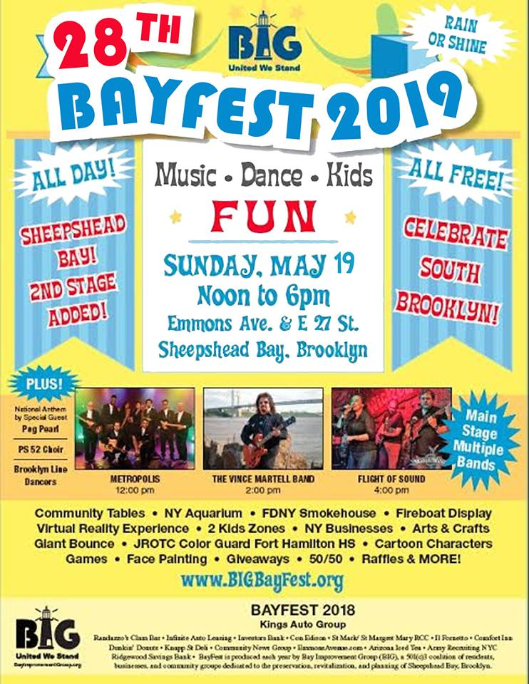 bayfest in sheepshead bay