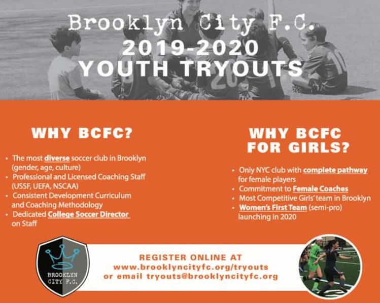 soccer for girls brooklyn