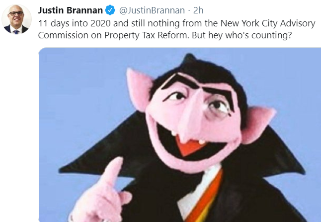Justin Brannan Worthless Tweeting