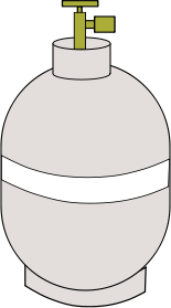 Propane Gas Tank For Barbecue